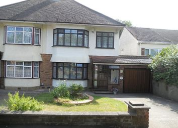 Thumbnail 3 bed semi-detached house for sale in Huntsmans Drive, Upminster