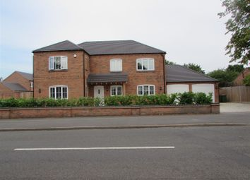 Thumbnail 4 bedroom detached house for sale in Cosby Road, Countesthorpe, Leicester