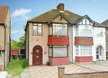 Thumbnail 3 bed semi-detached house for sale in The Chase, Edgware, Middlesex