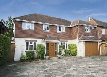 Thumbnail 4 bed detached house to rent in Onslow Avenue, South Cheam
