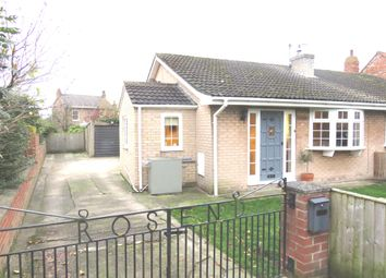 Thumbnail 2 bedroom semi-detached bungalow for sale in Gale Road, Alne, York
