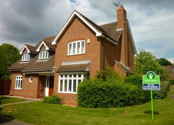 Thumbnail 5 bedroom detached house to rent in Quickthorns, Oadby, Leicester