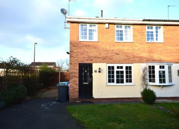 Thumbnail 2 bed semi-detached house to rent in Paxton Avenue, Perton, Wolverhampton