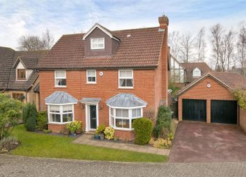 Thumbnail 5 bed detached house for sale in Lambourne Drive, Kings Hill
