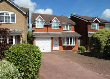 Thumbnail 4 bedroom detached house for sale in Fletchers Lane, Grange Farm, Kesgrave, Ipswich