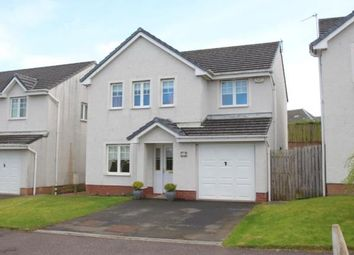 Thumbnail 4 bed detached house for sale in Station Brae Gardens, Dreghorn, Irvine, North Ayrshire
