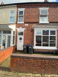 Thumbnail Terraced house for sale in Edmund Road, Birmingham