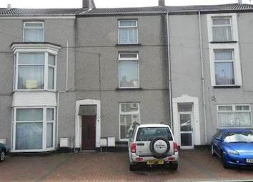 Thumbnail 4 bedroom terraced house to rent in Brunswick Street, Swansea