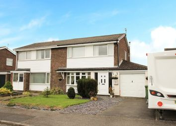 Thumbnail 3 bed semi-detached house for sale in Roundhay Drive, Eaglescliffe, Stockton-On-Tees