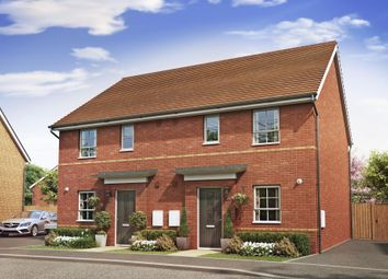 "Thumbnail 3 bed semi-detached house for sale in ""Folkestone"" at Lancaster Avenue, Watton, Thetford"