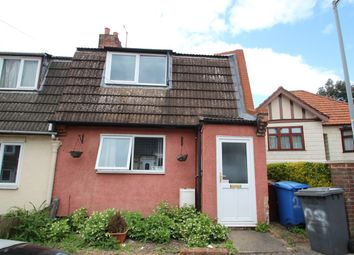 Thumbnail 3 bedroom end terrace house for sale in Jefferies Road, Ipswich