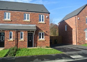 Thumbnail 3 bed semi-detached house to rent in Waterside Close, Sandiacre