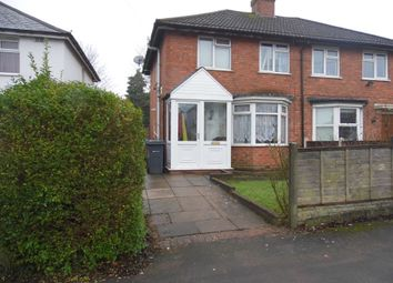 Thumbnail 2 bed semi-detached house for sale in Borrowdale Road, Northfield, Birmingham