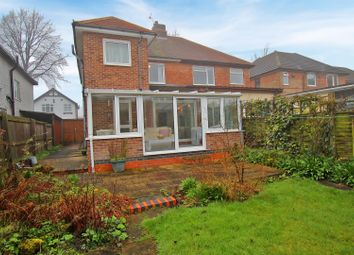 Thumbnail 3 bed semi-detached house for sale in Fernleigh Avenue, Mapperley, Nottingham