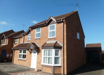 Thumbnail 3 bed semi-detached house for sale in Deene Close, Market Harborough