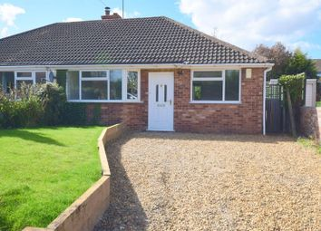 Thumbnail 2 bed semi-detached bungalow for sale in Shenley Road, Bletchley, Milton Keynes