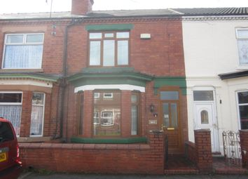 Thumbnail 3 bed terraced house for sale in St. Clair Street, Crewe