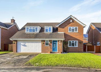 Thumbnail 4 bed detached house for sale in Ravenscroft, Holmes Chapel, Crewe