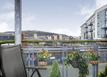 Thumbnail 2 bedroom flat for sale in St Stephen's Court, Maritime Quarter, Swansea