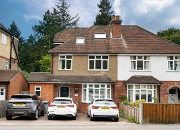 Thumbnail 4 bed semi-detached house for sale in Hemdean Road, Reading