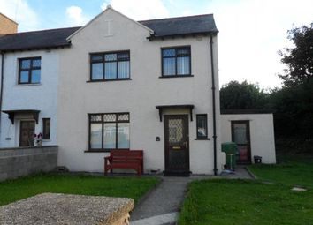 Thumbnail 3 bed semi-detached house for sale in 80, Ael Y Garth, Caernarfon