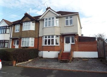 Thumbnail 3 bed end terrace house for sale in Boscombe Avenue, Hornchurch