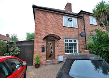 Thumbnail 2 bed end terrace house for sale in Benham Road, Hanwell, London