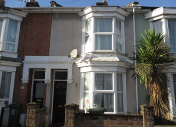 Thumbnail 2 bed terraced house to rent in Shearer Road, Portsmouth