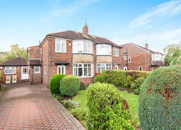 Thumbnail 4 bed semi-detached house for sale in Valley Close, Alwoodley, Leeds
