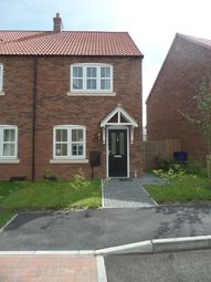 Thumbnail 2 bed semi-detached house to rent in Hawks Road, Lincoln