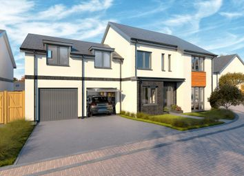 Thumbnail 5 bed detached house for sale in Fort Gardens, Oak Drive, Crownhill, Plymouth