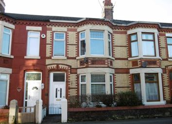 Thumbnail 4 bedroom terraced house for sale in Wesley Avenue, Wallasey, Wirral
