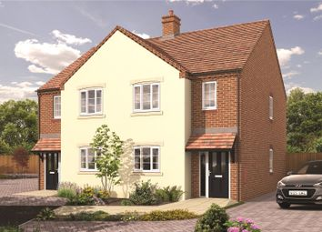 Thumbnail 3 bed semi-detached house for sale in The Green, Bransford, Worcester, Worcestershire