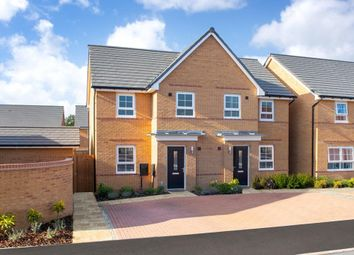 "Thumbnail 3 bed semi-detached house for sale in ""Palmerston"" at The Ridge, London Road, Hampton Vale, Peterborough"