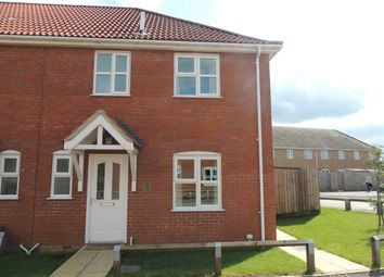 Thumbnail 3 bed end terrace house to rent in Ostlers Road, Downham Market