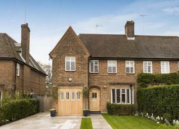 Thumbnail 5 bed semi-detached house for sale in Kingsley Way, Hampstead Garden Suburb, London