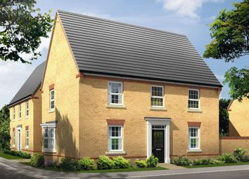 "Thumbnail 4 bed detached house for sale in ""Cornell"" at Newton Road, Burton-On-Trent"