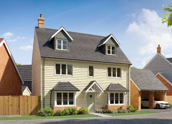 Waters Edge, Mytchett, Camberley GU16. 5 bed detached house for sale