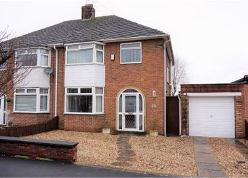 Thumbnail 3 bed semi-detached house for sale in Caulfield Drive, Greasby
