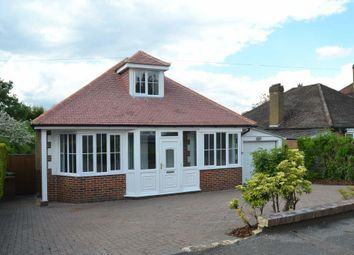 Thumbnail 4 bed detached bungalow to rent in Stag Leys, Ashtead