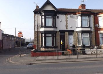 Thumbnail 4 bed end terrace house for sale in Hawthrorne Road, Bootle, Liverpool, Merseyside