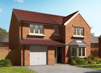 "Thumbnail 4 bed detached house for sale in ""The Haxby"" at Barff Lane, Brayton, Selby"