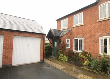 Thumbnail 3 bed semi-detached house to rent in Bramblewood Court, Chirk Bank, Wrexham