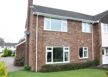 Thumbnail 3 bed semi-detached house to rent in Myrtle Close, Barwell, Leicester