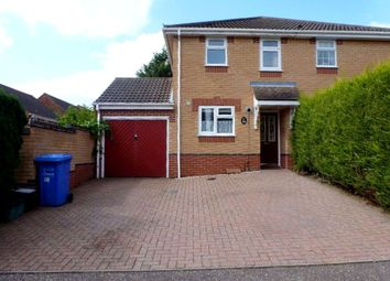 Thumbnail 2 bed semi-detached house to rent in Edrich Way, Norwich