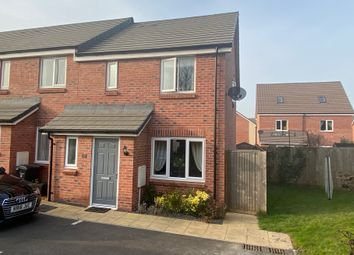 Birch Way, Cranbrook, Exeter EX5. 3 bed end terrace house for sale