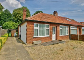 Thumbnail 2 bed semi-detached bungalow for sale in Caston Road, Thorpe St. Andrew, Norwich