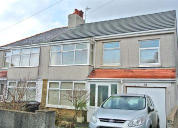 Thumbnail 4 bed semi-detached house for sale in Tranmere Crescent, Heysham, Morecambe