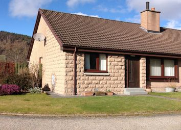 Thumbnail 2 bed semi-detached bungalow for sale in Nicol Court, Ballater, Aberdeenshire