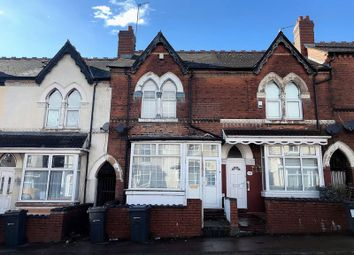 Thumbnail 3 bed terraced house to rent in Crocketts Road, Handsworth, Birmingham